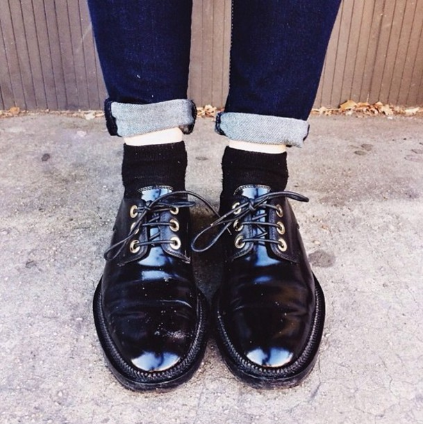 Shoes: luanna, le happy, drmartens, grunge, soft grunge ...
