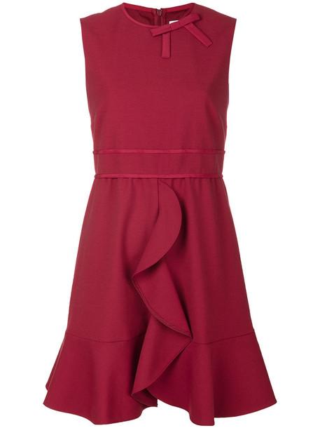 RED VALENTINO dress women spandex red