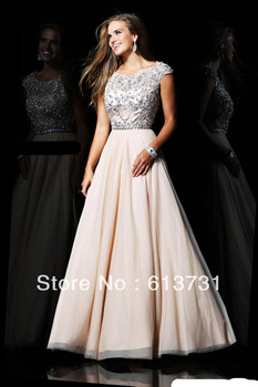 Aliexpress.com : Buy 2013 Elie Saab Dresses For Sale Designer Nude ...