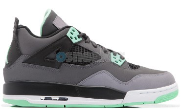 Air Jordan IV (4) Retro Green Glow GS