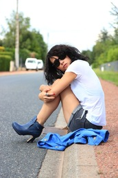 coline,blue shoes,shoes