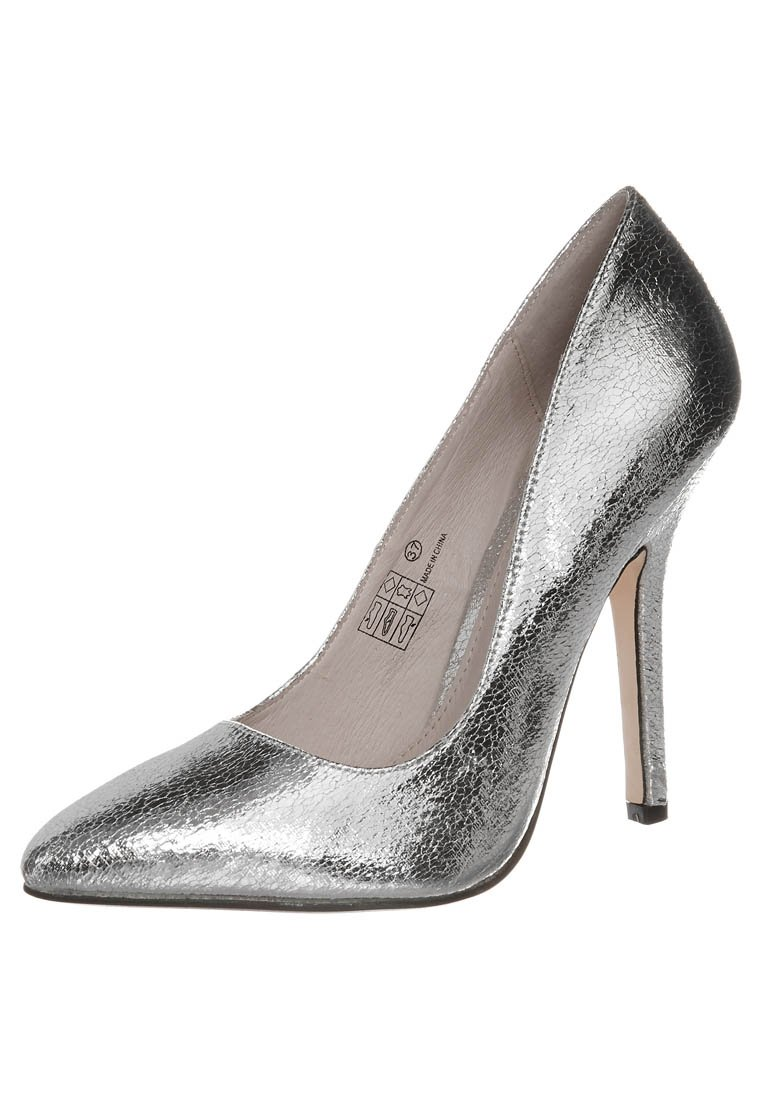 Buffalo High Heel Pumps - silver - Zalando.de