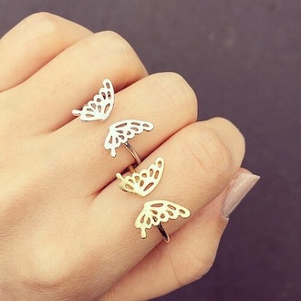 jewels ring butterfly ring butterfly