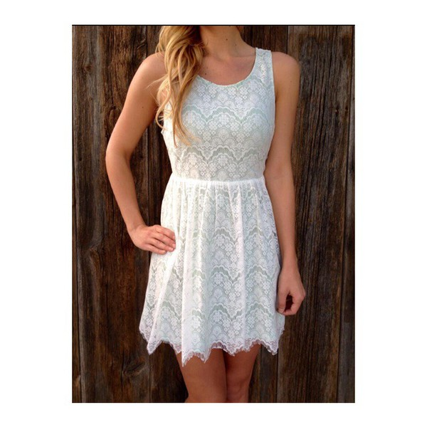 dress white lace white dress lace dress white lace dress flowers floral