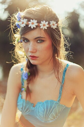 underwear shell shell bra mermaid bra mermaid blue underwear bra