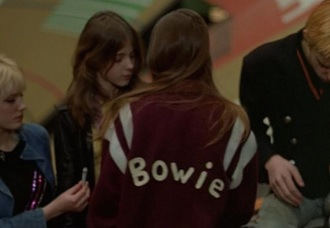 jacket burgundy red christiane f rock david bowie drugs music