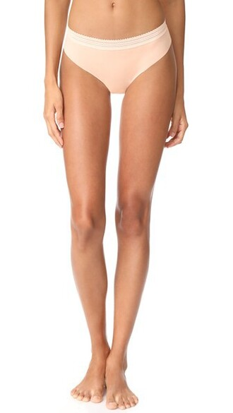 thong rose nude underwear