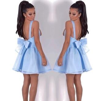dress skaterdress pink boutique skater dress blue bow white skater dress