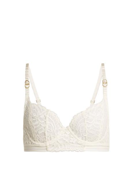 bra lace bra lace cream underwear