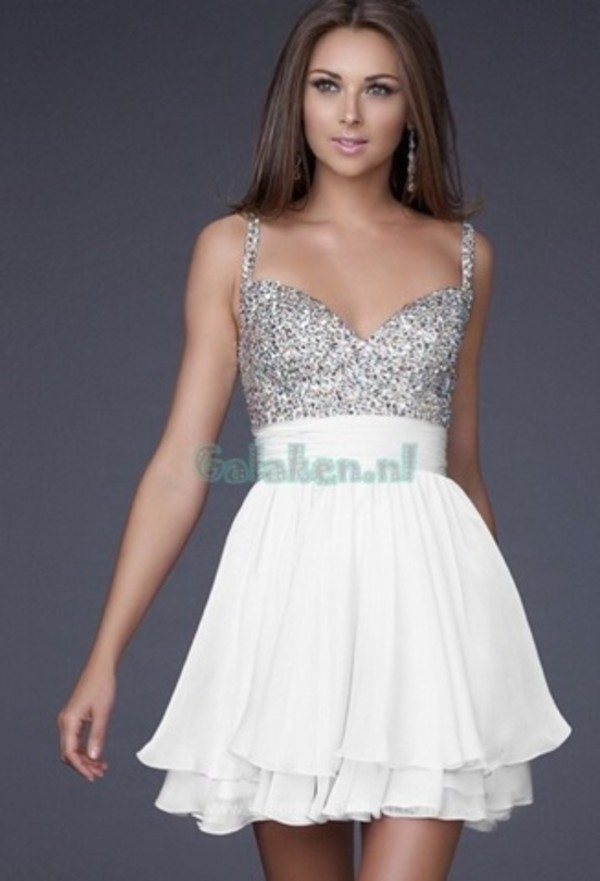 dress silver sparkle silver sparkles thin straps flowing