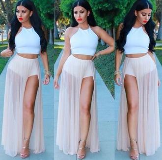 skirt short skirt shorts
