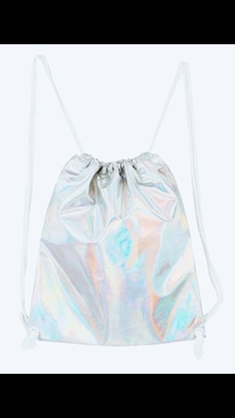 bag holographic holographic bag