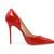 Glossy Red Vintage Heels