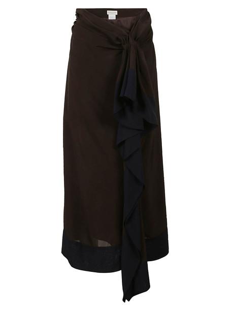 Dries Van Noten Sindra Skirt in brown