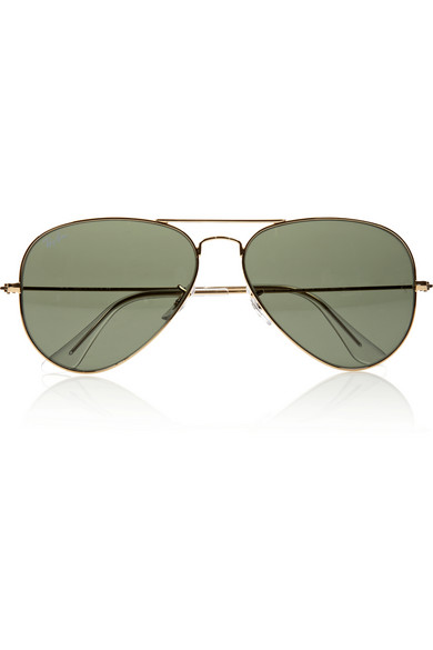 Ray-Ban | Aviator metal sunglasses | NET-A-PORTER.COM