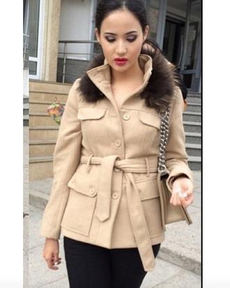 coat winter beige beige coat neutral coat camel coat winter coat winter jacket clothes