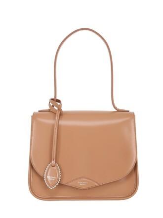 soft bag leather bag leather pink
