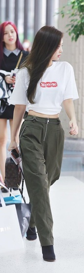 pants,kpop idol,kpop,blackpinkjennie,blackpink,airport fashion,fashion,kop idol