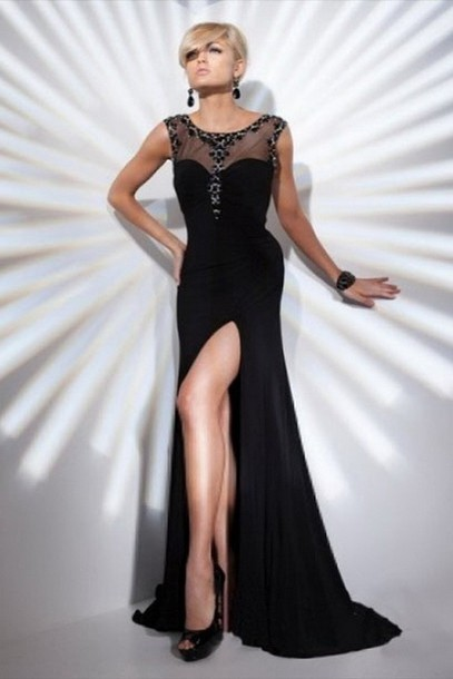 dress black dress dresses evening