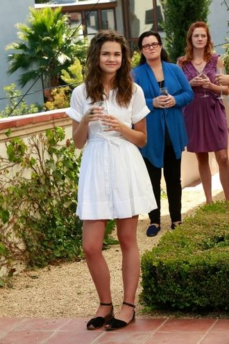 the fosters tv program jandal up callie shoes lace white dress dress