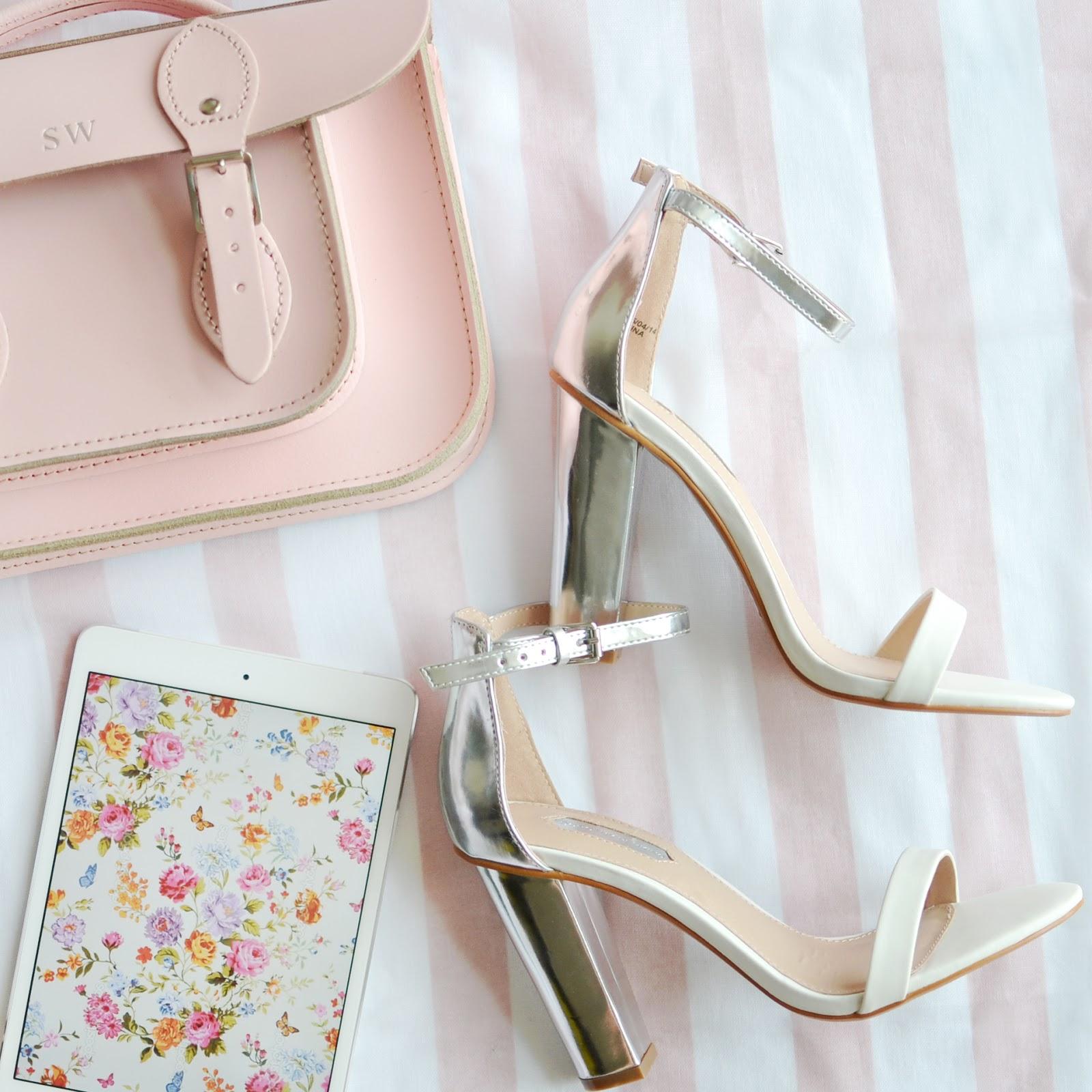 Temporary:Secretary UK Fashion Blog | Style Blogger: Heeled Sandals from House Of Fraser Under £30!