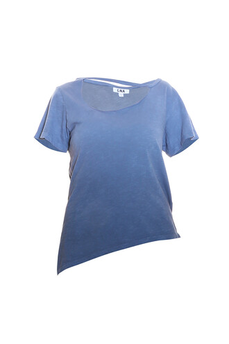 t-shirt shirt ombre blue top