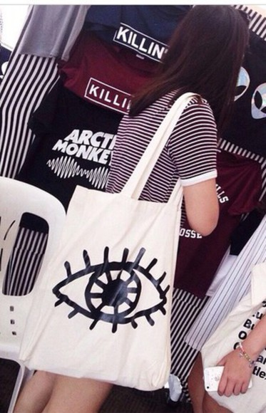 american apparel grunge t-shirt bag tote bag dope vogue indie graphic bag hipster instagram