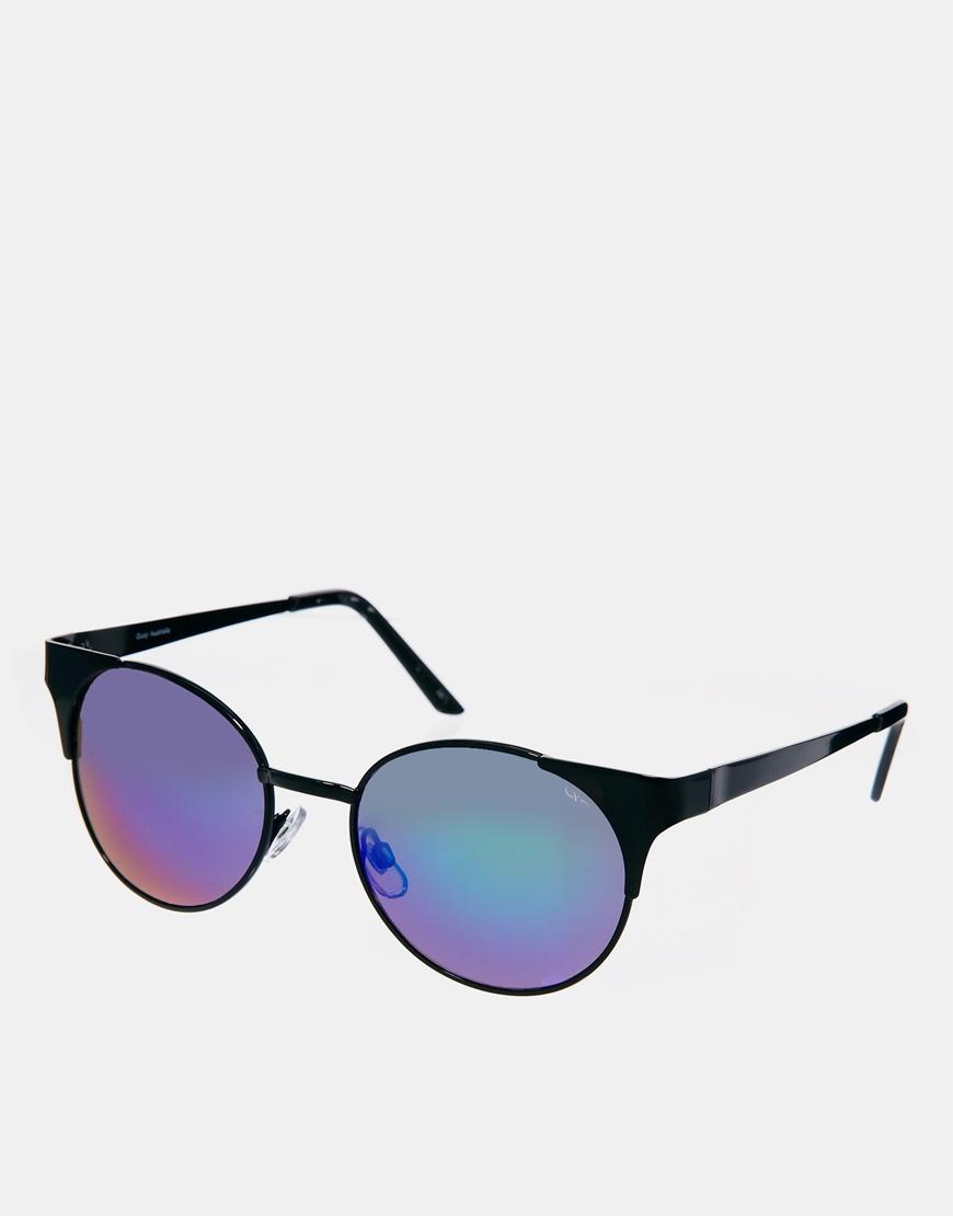 Quay asha mirrored sunglasses at asos.com