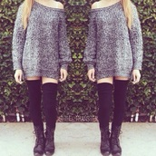 blouse,sweater,dress,shoes,knee high socks,boots,kylie jenner