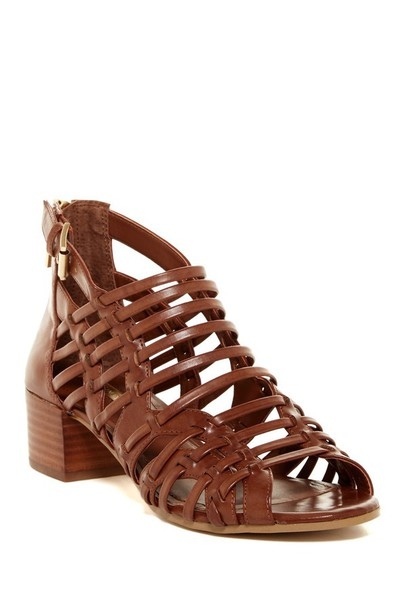 shoes sandals heels stacked wooden heel mid heel sandals