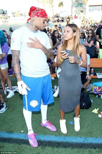 dress karrueche grey dress