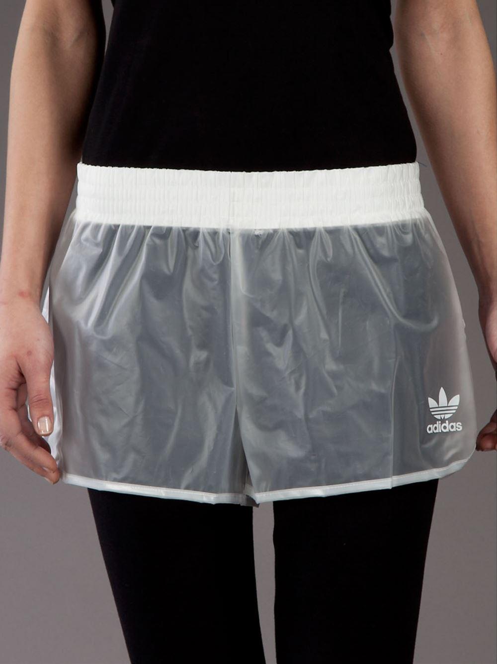 Adidas originals transparent running short