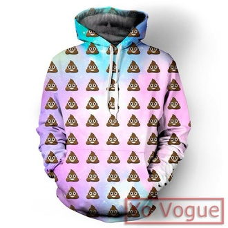 sweater t-shirt hoodie top sweatshirt 3d sweatshirts indie seapunk style swag dope fashion kawaii emoji print summer top grunge