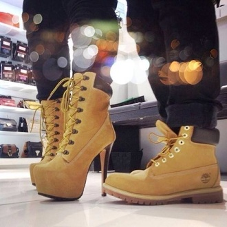 shoes timberland heels low-budget timberland heels platform shoes women shoes men shoes shopping lace black boots winter boots couple brown yellow shoes men boots women boots ankle boots stiletto boots chic lace up boots brown shoes camel shoes suede boots high heels high heels boots