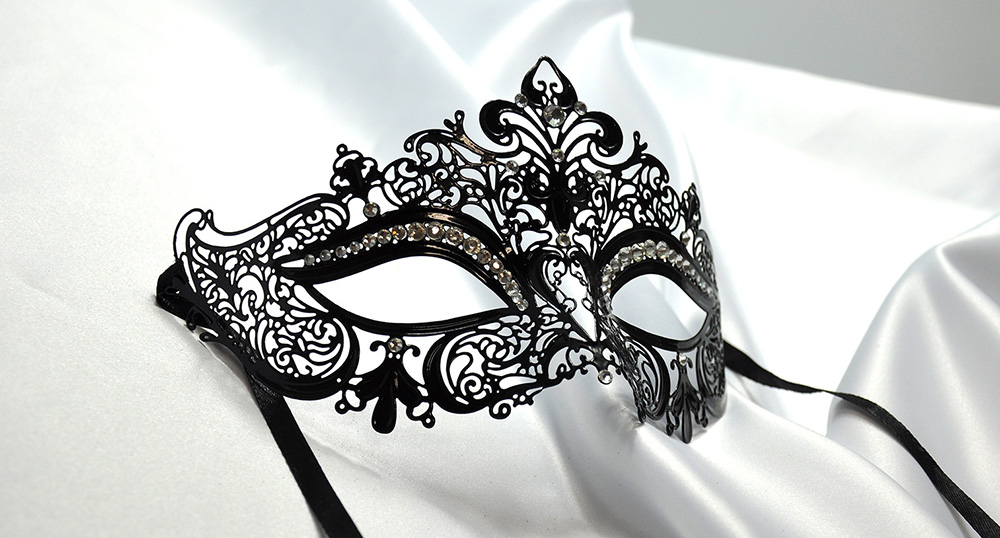 Royal Laser Cut Venetian Crown Metal Mask Masquerade Mask with Rhinestones | eBay