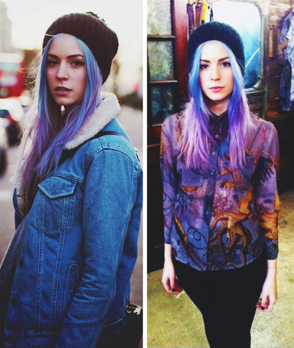 shirt gemma styles styles hair beanie jacket cool
