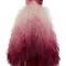 Strapless ombre high low dress | moda operandi