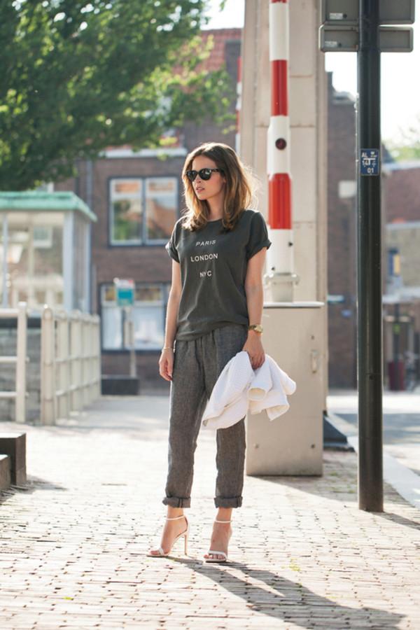 fash n chips t-shirt pants jacket shoes jewels sunglasses