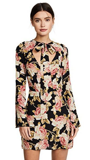 Roe + May dress mini dress mini floral