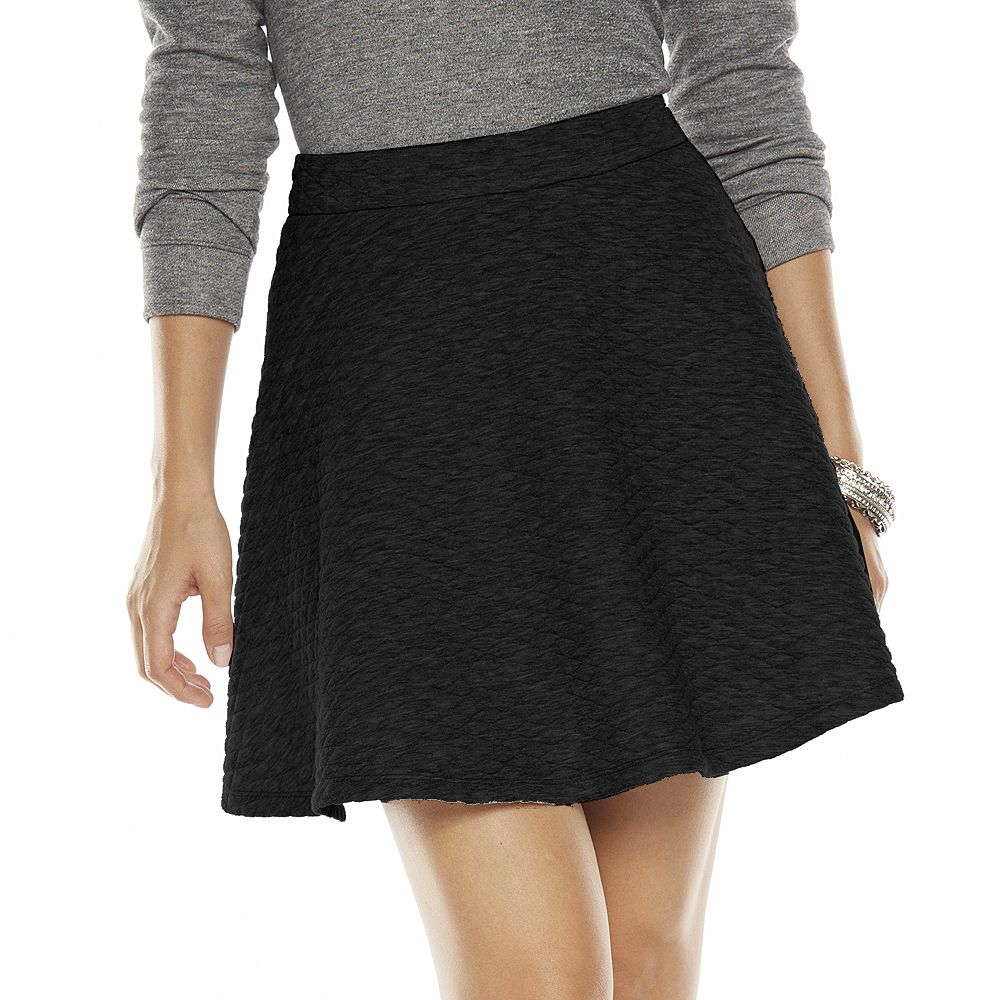 Lc lauren conrad quilted circle skirt