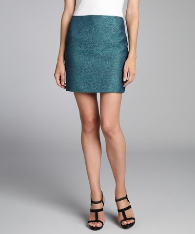 Elie Tahari black silk paillette covered 'Alexis' mini skirt | BLUEFLY up to 70% off designer brands