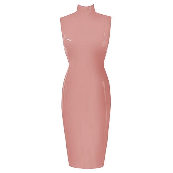 54a3ac10afd Couture Latex Sleeveless Joy Dress