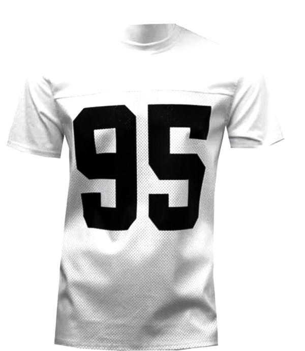 white jersey jersey white black leather fashion football shirts style streetwear street goth hot pants universal