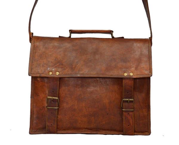 Indiana jones leather satchel 13