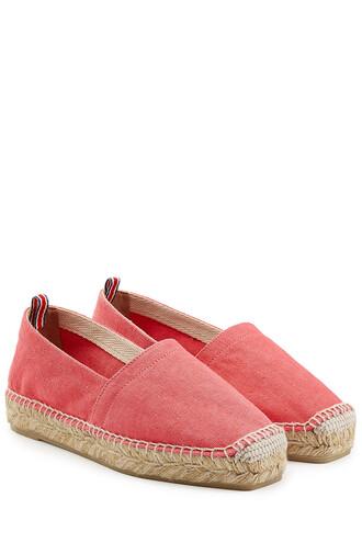 espadrilles rose shoes