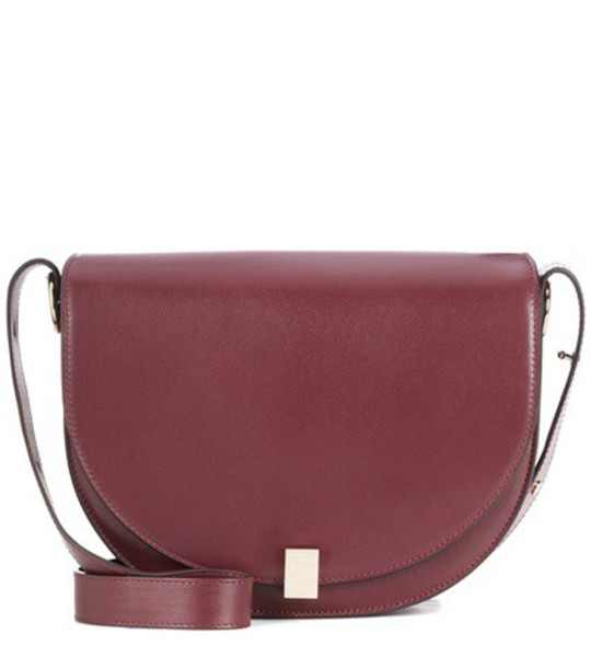 moon bag shoulder bag red