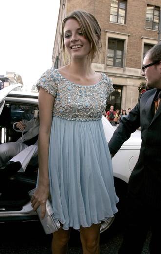 dress misha barton light blue gorgeous silky classy dressy cute dress cute prom dress homecoming short jewels price short sleeve light blue prom dress sky blue