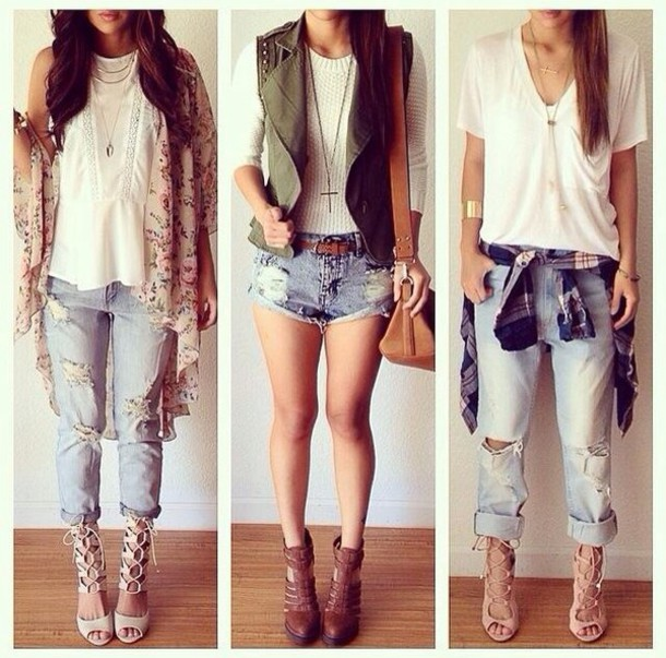 Cute Outfits With t Shirts And Jeans Shirt Casual Outfit Cute