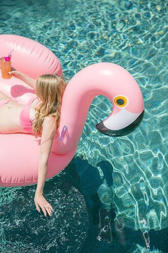 home accessory flamingo pool accessory