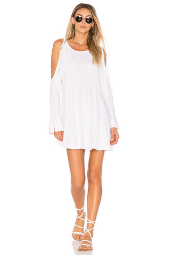tunic clear white top